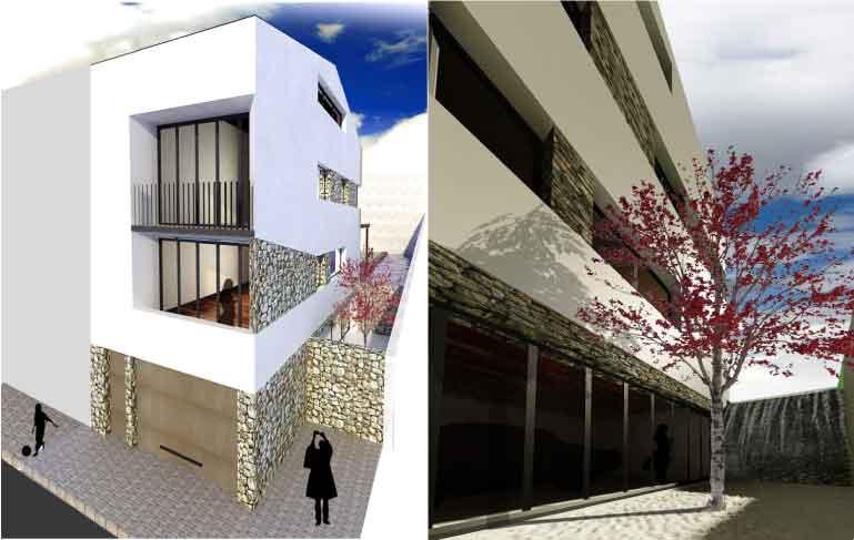 vivienda Tarrega foto combinada